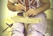 lucru manual din lemn
