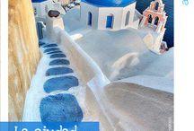 Ciudades Aquaservice / Blancas, azules, radiantes... ¡con agua! Son las ciudades Aquaservice, aquellas que parece que las hayamos pintado adrede. ¡Tienen nuestro espíritu! / by Aquaservice
