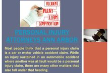 Ann Arbor Personal Injury Attorneys / Most people think that a personal injury claim is a car or motor vehicle accident claim. While an injury sustained in an automobile accident where another was at fault would be a personal injury claim, there are many other matters that also fall under that heading.