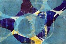 I love Gelli prints! / by Susan Marr