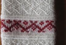 Tvebinding -twined knitting