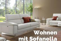 Wohnzimmer Ideen | Sofanella / Ideen fürs Wohnzimmer. Hier findest du Tipps und Tricks, wie du dein Wohnzimmer noch wohnlicher gestaltest.