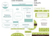 Cosmetic Labels Printable
