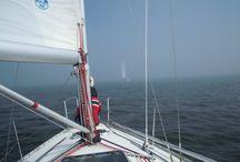H2O / Veneily, vesi, meri, purjehdus.