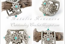 Crochet + knitting - jewellery / by Andrea Cuda