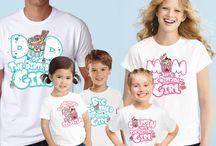 Cupcake Birthday Party Shirts