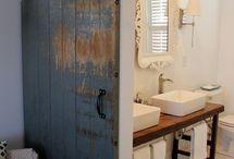 Rustic Living / Bathroom