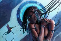 Sci-fi-Art / Science Fiction