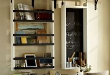 organizing, storage and cleaning