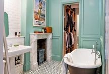 upstairs bathroom / by Carlie Holmboe