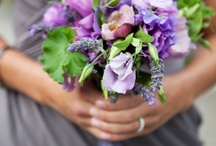 Wedding bouquet / Bohemian wedding bouquets in pastel colours