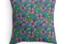 Fleurs / Floral print collection.