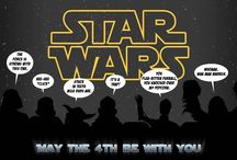 May The Fourth Be With You / In celebration of Star Wars Day, and Star Wars in general. What else would it be?