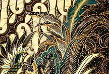Batik Indonesien