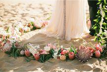 - seaside wedding -