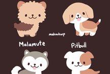 Dog breed doodles