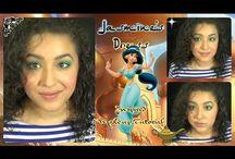 Disney Makeups and Cosplays