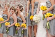 Gray and Yellow Wedding / by Rebecca Word