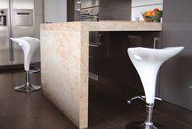 Kitchen / Kitchen Countertop, Flooring & Stone walls By Marfesa Stone - Marble, Granite, Quartz surfaces, Krion, Neolith, etc