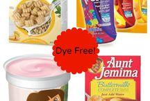 Red Dye Free Foods / Red Dye is dangerous  / by Suzanne Ridgeway Frugal Mom!