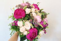 WILD AT HEART | SUMMER BOUQUETS / A collection of abundant Summer bouquets.