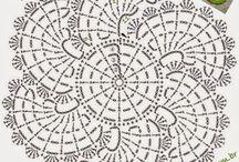 crochet  ( diagramas)