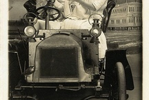 Vintage: Automobiles / Vintage cars weren't utility vehicles, a way to get from point A to point B.  They were elegant and made a statement.