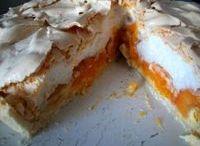 meruňkový dort Sněhulák
