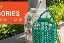 Homewares and Decor / Ceramics, glassware, lanterns, ornaments, clocks, servingware, faux flowers and foliage – everything you need to style up your outdoor and indoor decor is at Segals.
