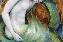 Art / Mermaid / by Ogunde Funmi
