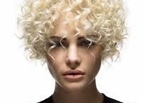 Stacked spiral Perm short hair