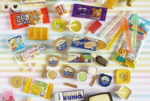 Re-ment & Megahouse / Miniature models of mostly food miniatures designed in Japan.