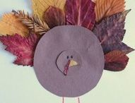 THANKSGIVING CRAFTS FOR KAMI / by Lynnette Edic