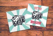 Retro & Vintage Illustrations
