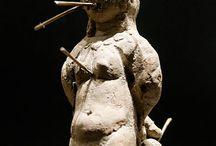 Figurines d'envoûtement, d'exécration