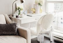 Home Offices/Work Spaces / by Mechelle