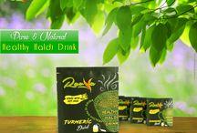 Pure & Natural Healthy Haldi Drink
