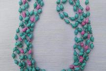 Paper bead jewellery