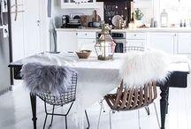 White - nature- interior