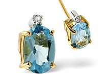 Popular Blue Topaz Earrings / Brazilian topaz is a luxurious gem with exceptional incandescence and sparkle. Blue topaz lends itself beautifully to our elegant range of earrings, adding star quality to your days and evenings...