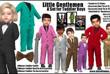 Vêtements Bambins - Sims 4
