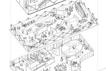 Exploded views buildings