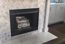Accent Spaces / Need ideas for accent spaces?  Tile is always a great option!