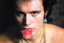 """""""Don't you ever, don't you ever stop being dandy, showing me you're handsome"""" (Adam Ant) / Photos of Adam Ant and his band Adam And The Ants. (Title quote from """"Prince Charming"""" by Adam And The Ants)"""