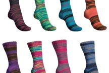 Sockenwolle-Neuheiten / Hier stellen wir regelmäßig neue Sockenwolle vor.