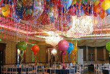 decoración para fiesta