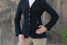 Ladies Equestrian Show Coats & Jackets / The most popular English Styles. Perfect for Dressage, Hunter/Jumper, Eventing -- All English Equestrian Disciplines. Selections From Major Global Manufacturers.