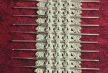 holders - crochet hooks and knit needles