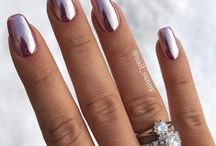 manicures metallic