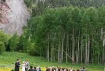 """OutThere Weddings / Colorado has some of the most breathtaking spots for couples to say their """"I Do""""s - and we've pinned them here for you!"""